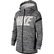 Nike Boys' Therma Graphic Full-Zip Hoodie