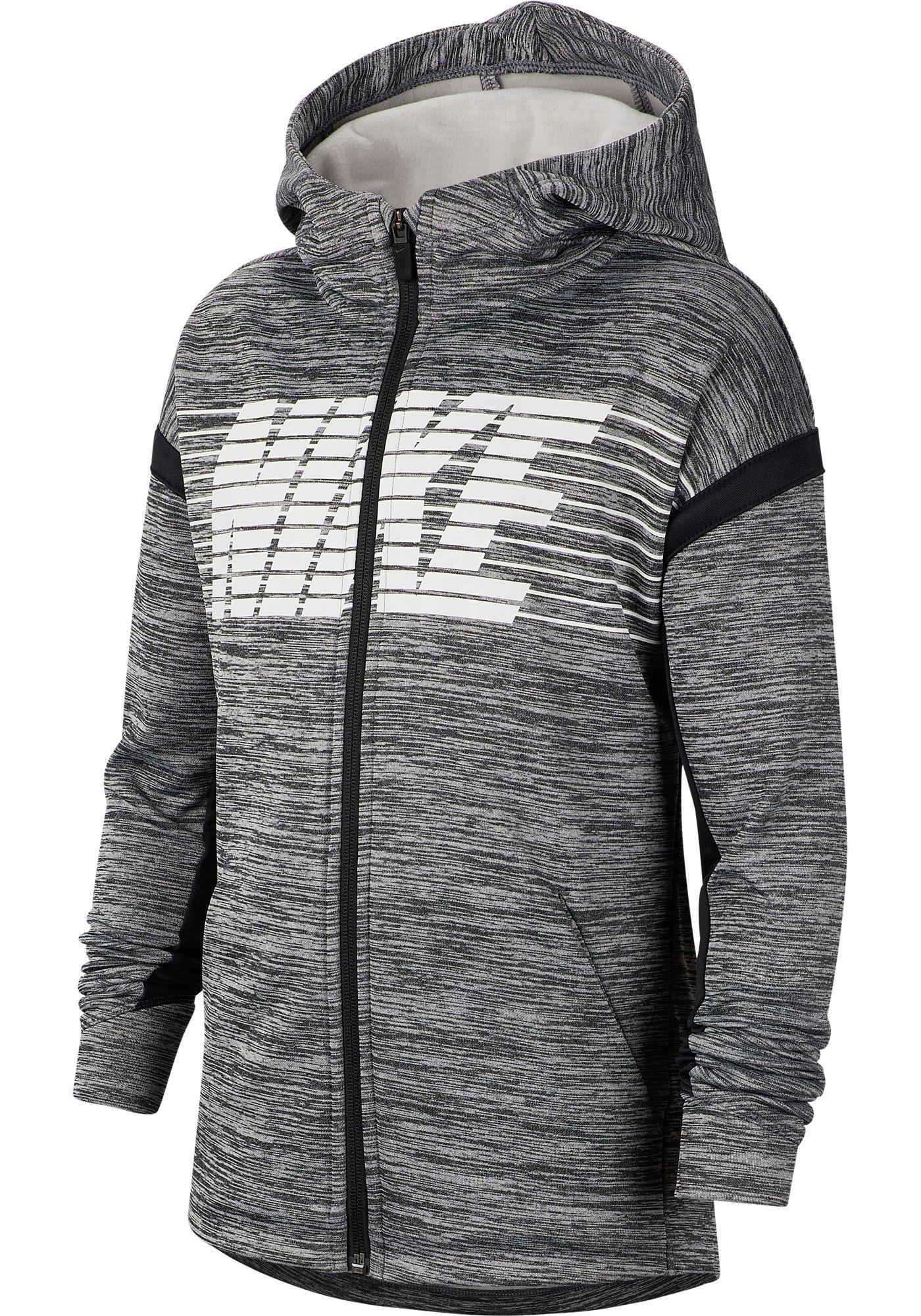 Nike Boys' Therma Graphic Full-Zip Hoodie