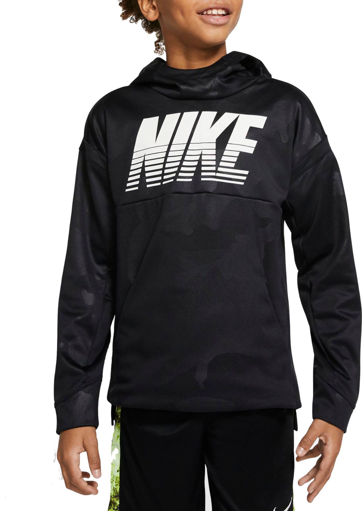 Nike Boys' Therma Embossed Hoodie