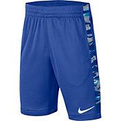 Nike Boys' Trophy Printed Training Shorts