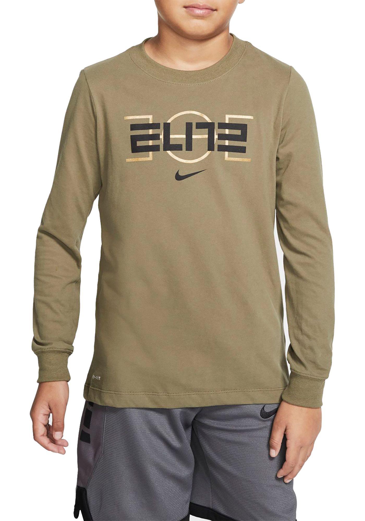 Nike Boys' Dri-FIT Elite Long Sleeve Shirt