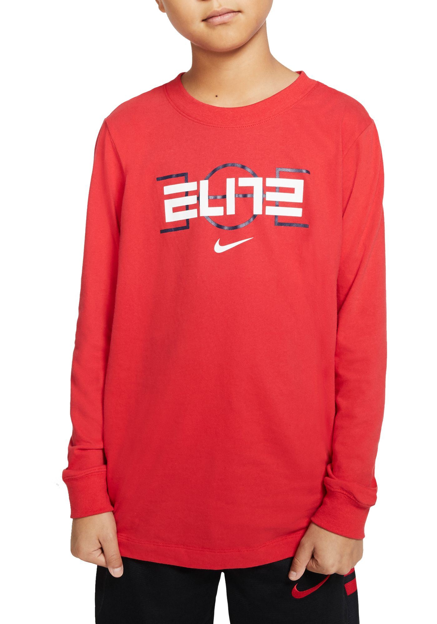 Nike Boys' Dri-FIT Elite Long Sleeve Shirt