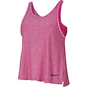 Nike Girls' 2-in-1 Dri-FIT Training Tank Top