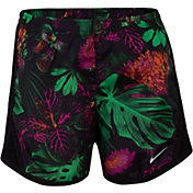Nike Little Girls' Dri-FIT Botanical Tempo Shorts