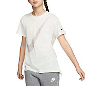 Nike Girls' Sportswear Futura Droptail T-Shirt