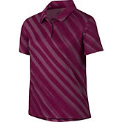 Nike Girls' Dri-FIT Printed Golf Polo