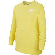 Nike Girls' Sportswear Crewneck Sweatshirt
