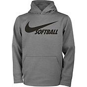 Nike Girls' Therma Pullover Softball Hoodie