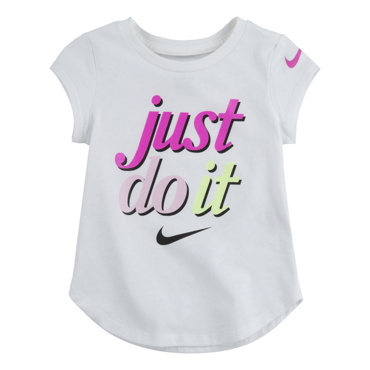 Nike Little Girls' Just Do It Graphic T-Shirt