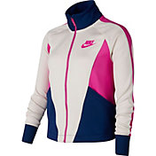 Nike Girls' Sportswear Heritage Full Zip Jacket