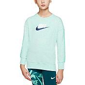 Nike Girls' Sportswear Jersey Long Sleeve Shirt