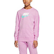 Nike Girls' Sportswear Jersey Long Sleeve Shirt