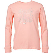 Nike Girls' Sportswear Long Sleeve T-Shirt