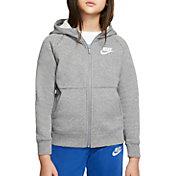 Nike Girls' Premium Essentials Full-Zip Hoodie
