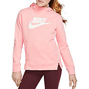 Nike Girls' Sportswear Essentials Hoodie (Regular and Extended)