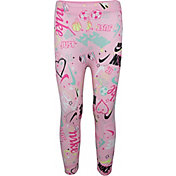 Nike Girls' Sportswear Scribble Print Leggings
