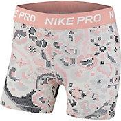 Nike Girls' Pro Femme Printed Boy Shorts