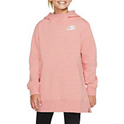Nike Girls' Sportswear Fleece Long Hoodie