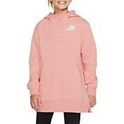 Nike Girls' Sportswear Fleece Long Hoodie