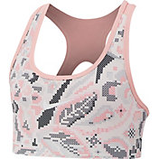 Nike Girls' Pro Femme Printed Reversible Sports Bra