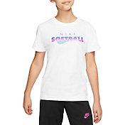 Nike Sportswear Girls' Droptail Softball T-Shirt