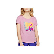 Nike Sportswear Girls' Just Do It Scoop Neckline Tee