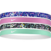 Nike Girls' Assorted Headbands 4 Pack