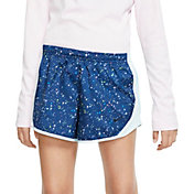 Nike Girl's Dri-FIT Printed Tempo Shorts