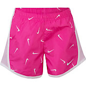 Nike Little Girls' Dri-FIT Printed Tempo Shorts
