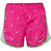 reputable site 453b3 2ca7b Product Image · Nike Little Girls  Dri-FIT Printed Tempo Shorts
