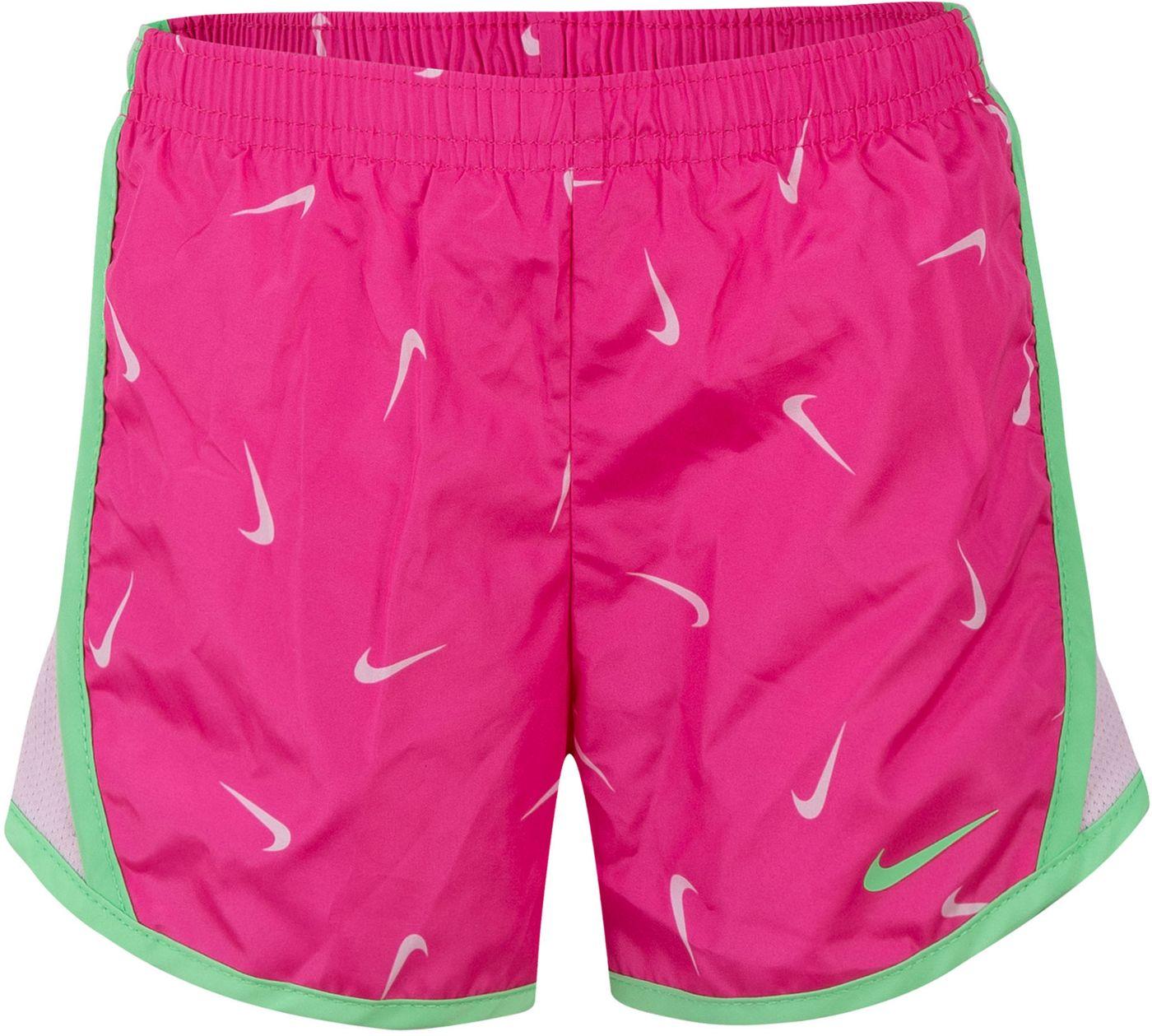 Nike Little Girls' Dri-FIT Printed Tempo Shorts