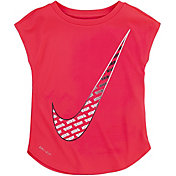 Nike Little Girls' Dri-FIT Swoosh T-Shirt