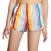 Nike Girls' Retro Stripe Tempo Shorts