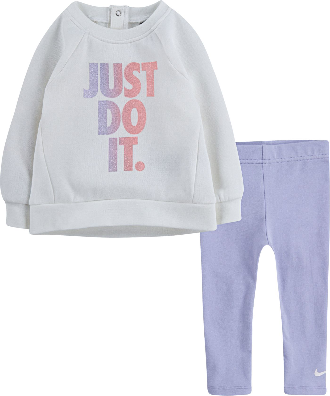 Nike Girls' Tunic Crew Pullover and Leggings Set