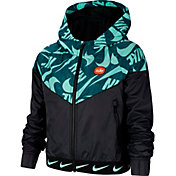 Nike Girls' Sportswear Printed Windrunner Jacket