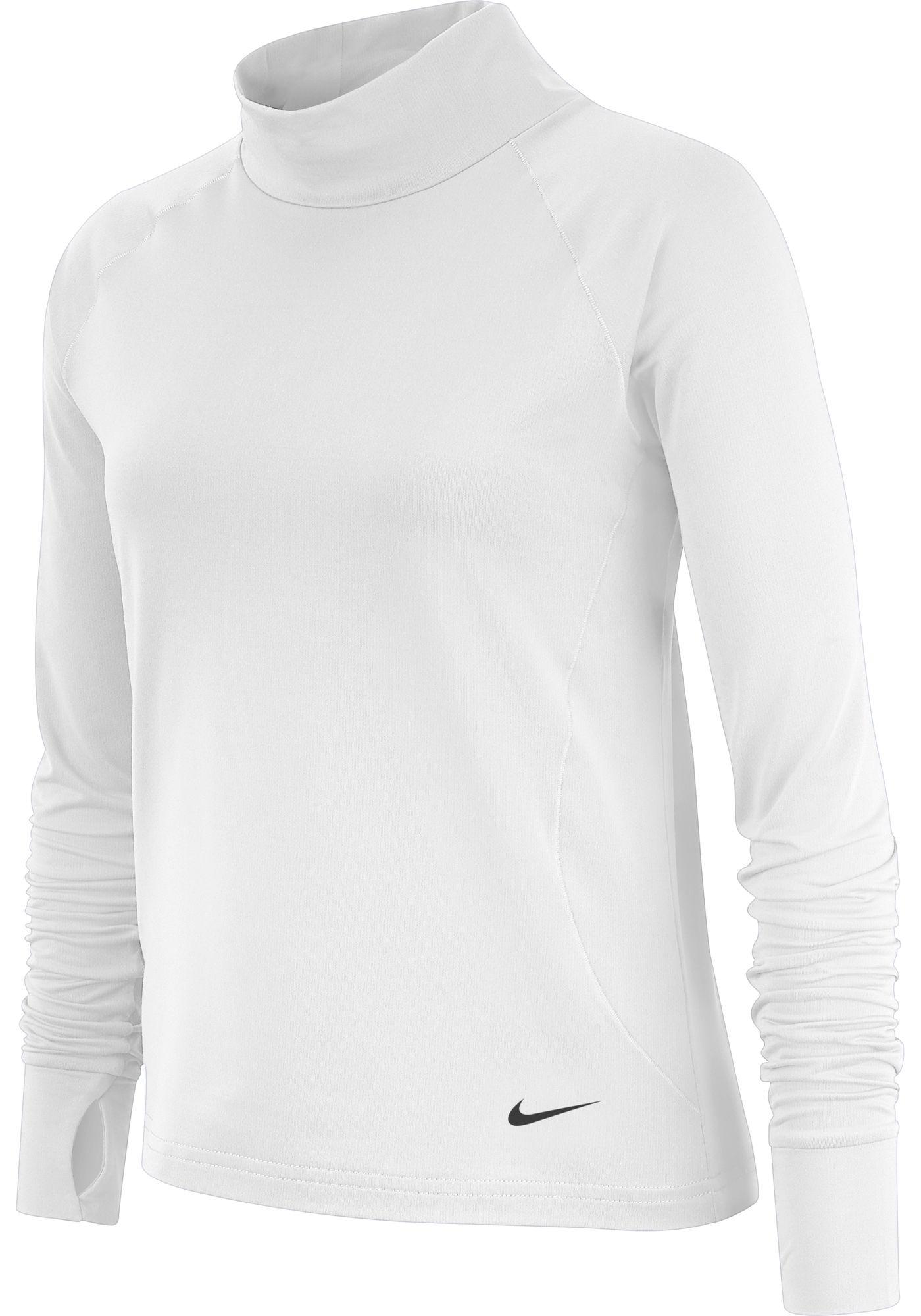 Nike Girls' Pro Warm Long Sleeve Shirt