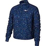 Nike Girl's Pro Warm Starry Night Half-Zip Pullover