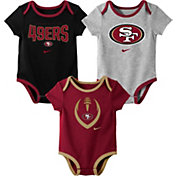 Nike Infant San Francisco 49ers Icon 3-Pack Bodysuit