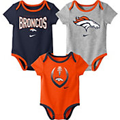 Nike Infant Denver Broncos Icon 3-Pack Bodysuit