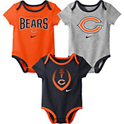 Nike Infant Chicago Bears Icon 3-Pack Bodysuit