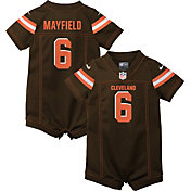 Nike Infant Cleveland Browns Baker Mayfield #6 Romper Jersey