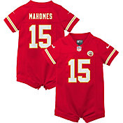 Nike Infant Kansas City Chiefs Patrick Mahomes #15 Red Romper Jersey