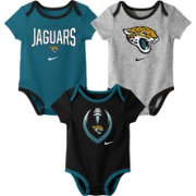 Nike Infant Jacksonville Jaguars Icon 3-Pack Bodysuit