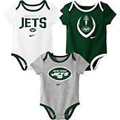 Nike Infant New York Jets Icon 3-Pack Bodysuit