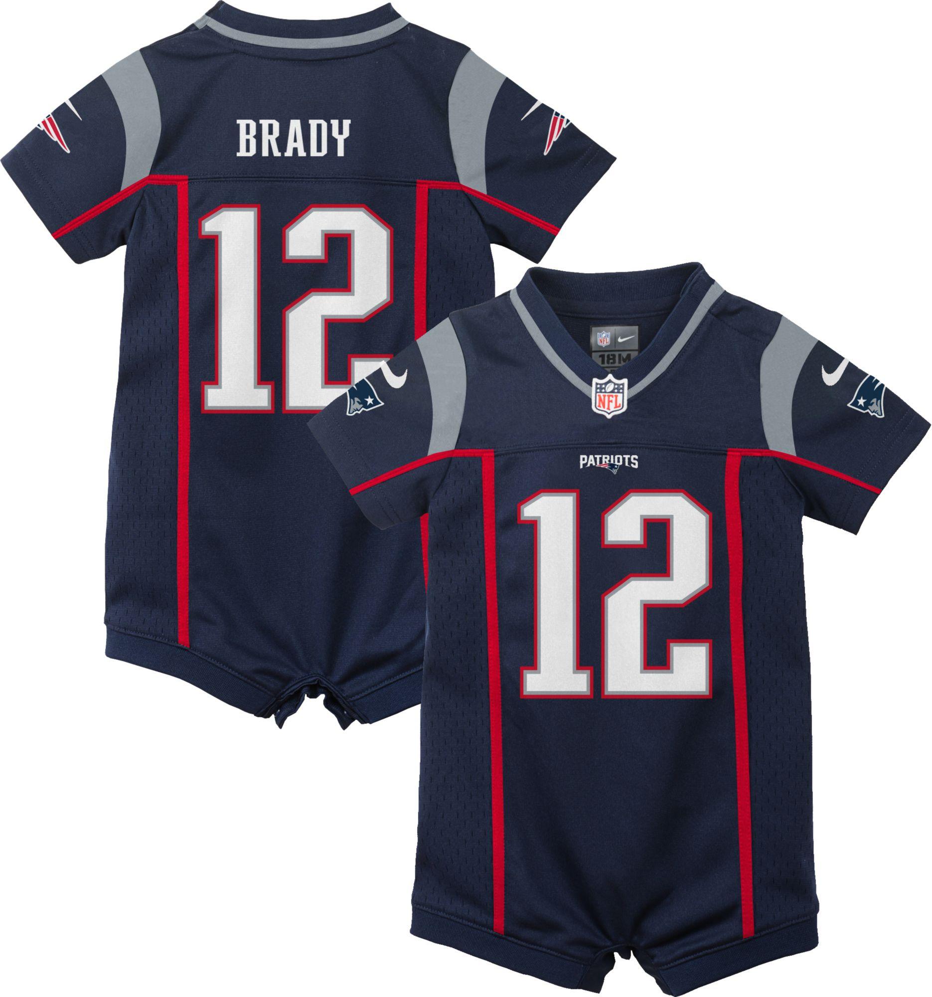 tom brady jersey for girls