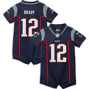 Nike Infant New England Patriots Tom Brady #12 Romper Jersey