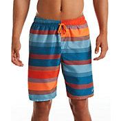 Nike Men's 6:1 Linen Stripe Breaker Volley Swim Trunks