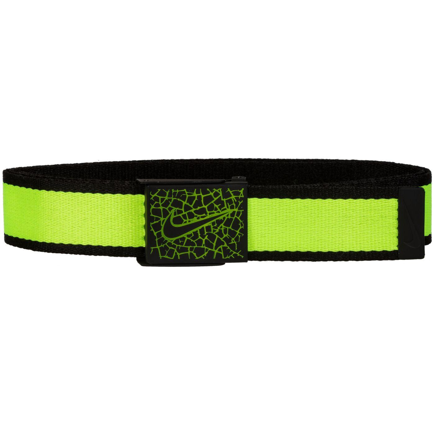 Nike Men's Crackle Buckle Reversible Golf Belt