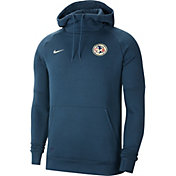 Nike Men's Club America Team Navy Pullover Hoodie