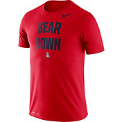 Nike Men's Arizona Wildcats Cardinal Dri-FIT 'Bear Down' T-Shirt